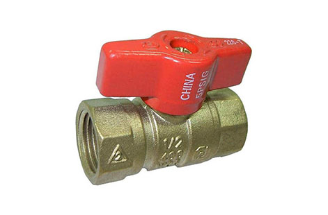Fortune Series 226, 227, 228 Double O-Ring Forged Brass Ball Valves